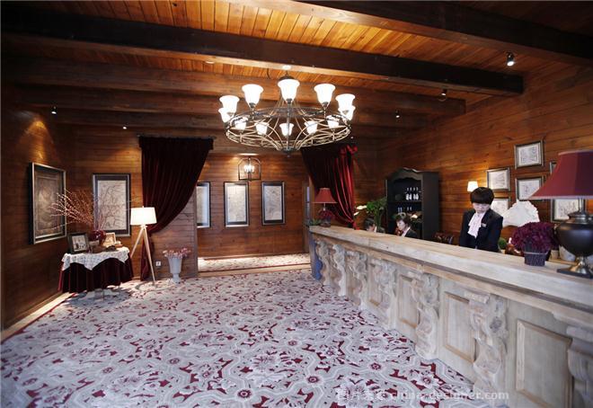 大连保利地产西山林语售楼处-刘锐的设计师家园-欧式,住宅公寓售楼处