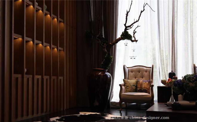 杭州天鸿美和园样板别墅设计-徐迅君的设计师家园-别墅样板间