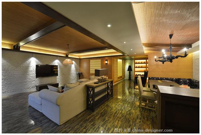 西安鸿基紫韵楼盘联排叠加别墅-李翔的设计师家园-空间感