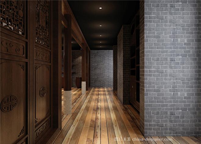 明堂普洱-裴啸的设计师家园-新中式,沉稳庄重,后现代主义,展览空间