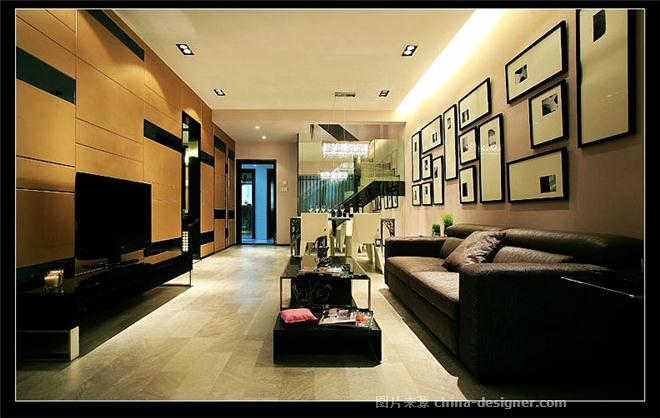 南德新都时尚条纹-唐威的设计师家园-小户型