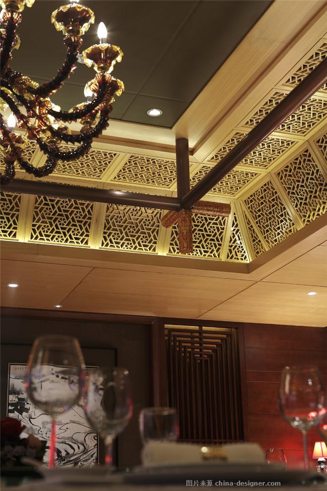 柒公名豪大酒店-孙洪涛的设计师家园-中式餐厅