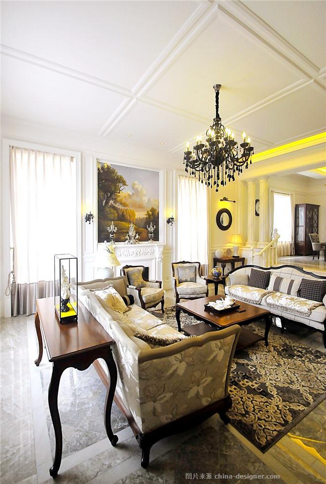 私人别墅-申彤的设计师家园-厨房,客厅