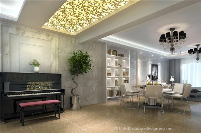 丹芙春城-江阴亚光亚 名居世家装饰设计工的设计师家园-别墅