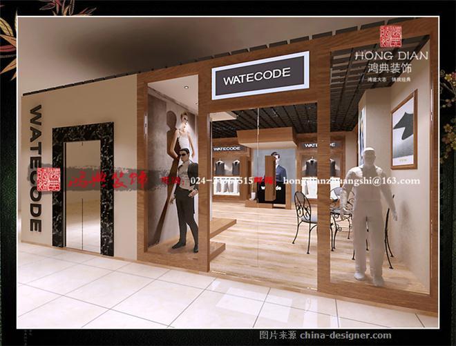 服装店2-亢敏的设计师家园-沉稳,现代,服装店