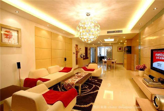 6万打造现代经典婚房-北京宜居装饰有限公司的设计师家园-现代,客厅,三居