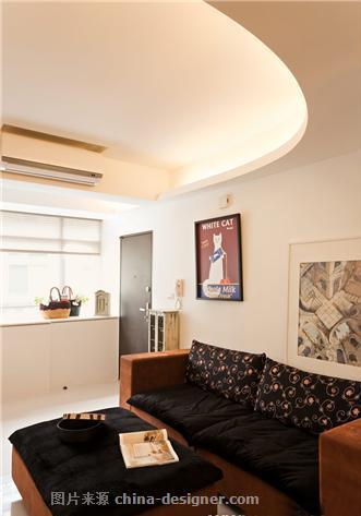 5.5万打造现代风格珠江绿洲-北京宜居装饰有限公司的设计师家园-新中式,客厅,三居