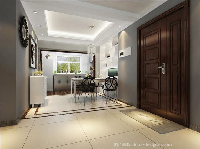 国际城简域-孙一鸣的设计师家园-现代简约,四居及以上