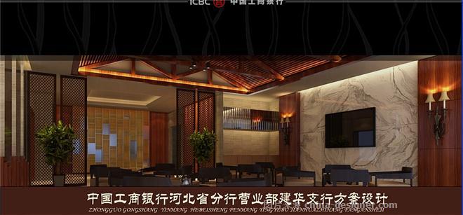 工行建华支行-刘奇的设计师家园-营业厅