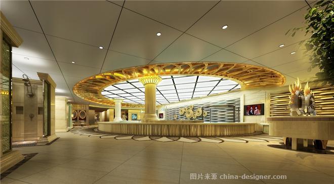 金恒名人会馆-王长玲的设计师家园-欧式,休闲会所