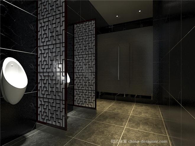 五米粥济宁店-张光磊的设计师家园-沉稳庄重,现代简约,中餐厅/中餐馆