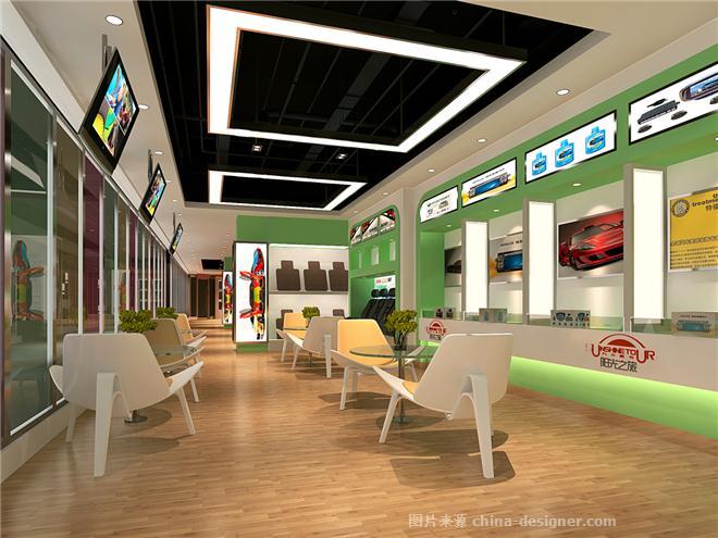 室内设计汽车美容会所-成龙的设计师家园-室内设计-展示空间