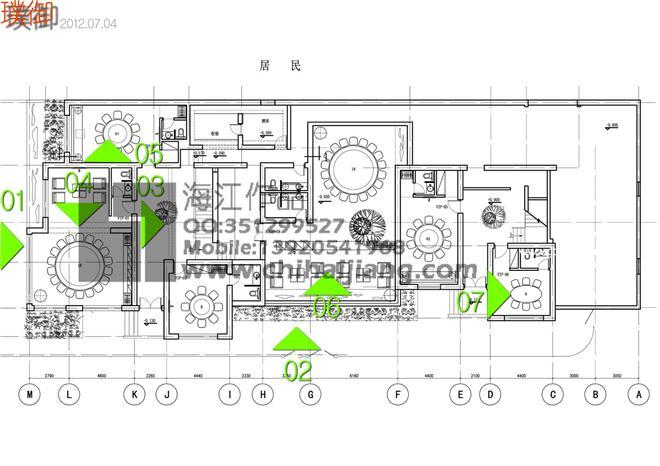 天津璞御-池海江的设计师家园-现代简约,中餐厅/中餐馆,民族特色餐馆