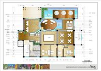 设计师家园-万宁弗拉明戈·屿海售楼处室内设计