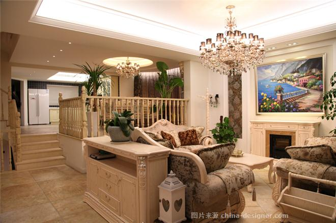东湖观邸-徐波的设计师家园-现代欧式,联排别墅