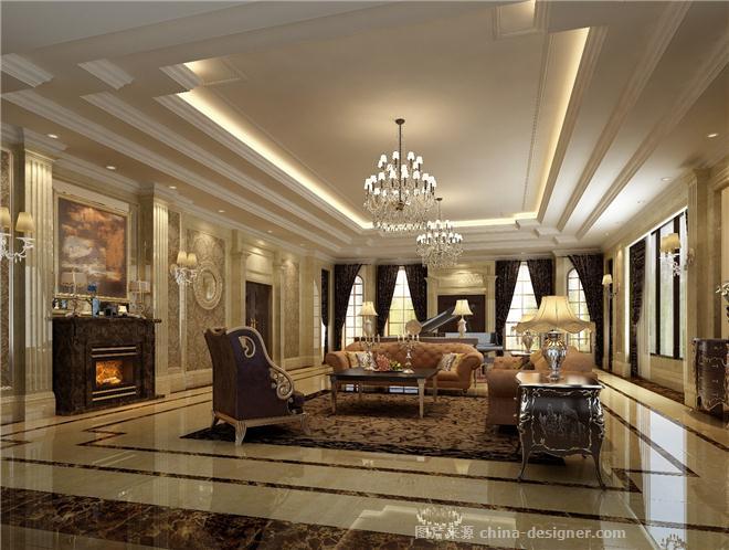 长沙碧桂园-徐梁的设计师家园-沉稳庄重,奢华气派,欧式,独栋别墅