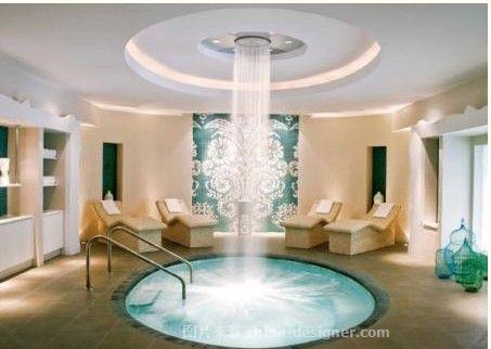 郑州洗浴中心装修设计案例-上海建筑装饰设计有限公司郑州分公司的设计师家园-洗浴设计 洗浴案例