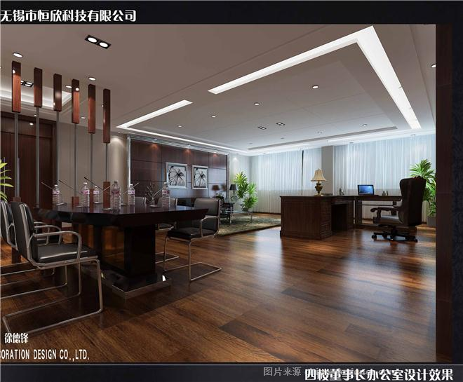 无锡恒欣科技办公楼部分-徐德锋的设计师家园-沉稳,现代简约,办公楼