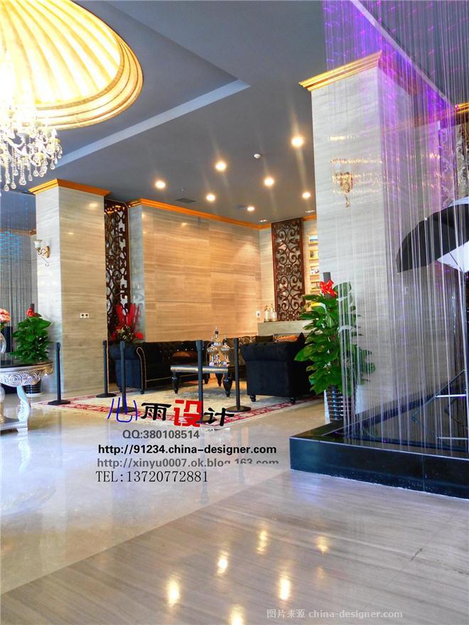 倚能维兰德-小镇-售楼部兼会所,样板间-马建刚的设计师家园-现代简约,住宅公寓售楼处