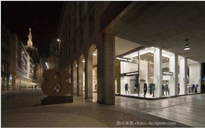 Penny Blacck概念店设计-宁泽的设计师家园-现代简约,专卖店,服装店