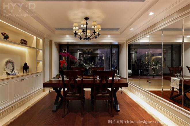 繁华深处――卓越・维港名苑-郑鸿的设计师家园-现代欧式,住宅公寓样板间