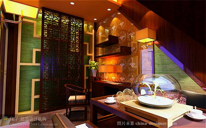"""""""和氏璧""""-王勇刚的设计师家园-传统中式,混搭,民族风,新中式,卧室,休闲区,书房,餐厅,独栋别墅,客厅"""