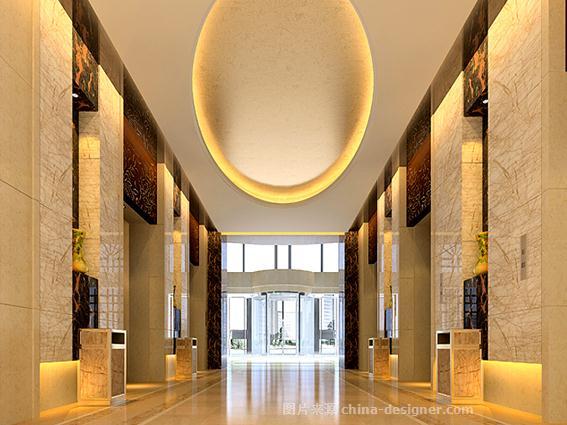 辛集圣蒂凯莱大酒店-田雪飞的设计师家园-新中式,商务酒店