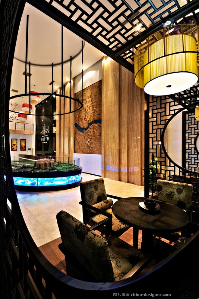 【七街十二府】-高雄的设计师家园-新中式,住宅公寓售楼处