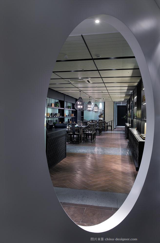 【静茶】香格里拉店-高雄的设计师家园-新中式,专卖店