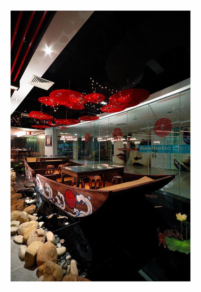 【望江南】万象城店-高雄的设计师家园-新中式,中餐厅/中餐馆