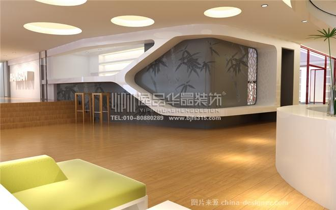 孔子学院汉办书吧-北京逸品华晟装饰工程设计有限公司的设计师家园-现代简约,图书馆