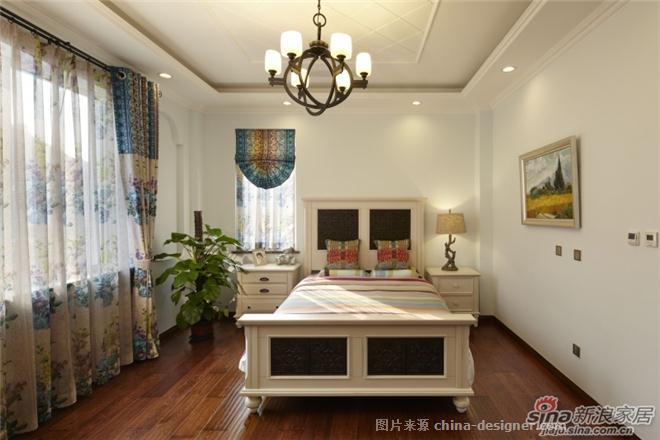 美式乡村风格实景龙熙别墅-北京元洲装饰有限责任公司的设计师家园-美式,独栋别墅