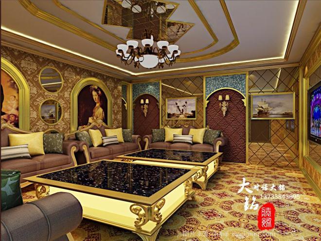 连云港东海县商务KTV-李同涛的设计师家园-现代欧式,ktv