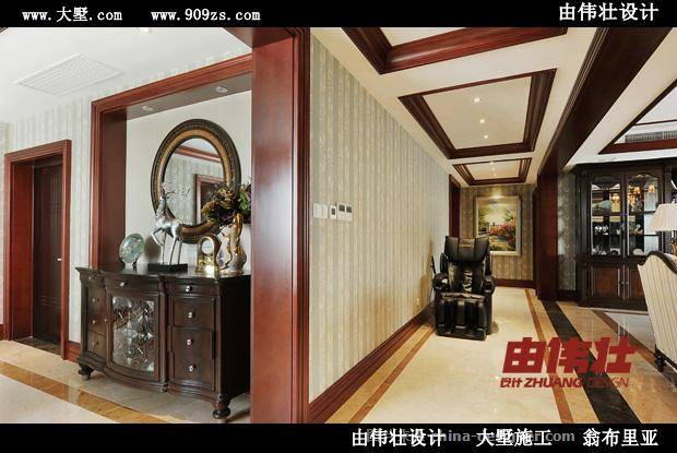 由伟壮设计260�O美式新古典别样情怀-由伟壮的设计师家园-沉稳庄重,新古典主义,美式