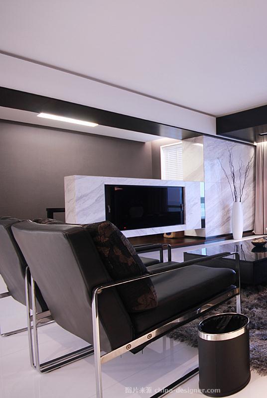 温州正茂小区住宅设计 安静-宋毅的设计师家园-现代简约,三居