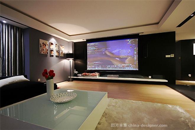 温州江锦家园住宅设计 游戏人生-宋毅的设计师家园-现代简约,四居及以上