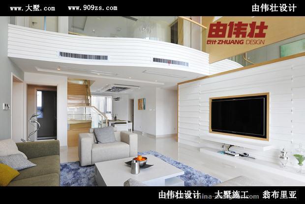 由伟壮设计360�O全托管现代个性风别墅-由伟壮的设计师家园-青春,现代简约,独栋别墅
