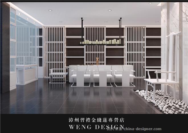 漳州习礼金线莲专营店-翁德的设计师家园-茶室/茶馆/茶社