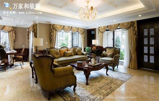 万家和―长城半岛城邦美式平层-四川万家和装饰工程有限公司的设计师家园-美式