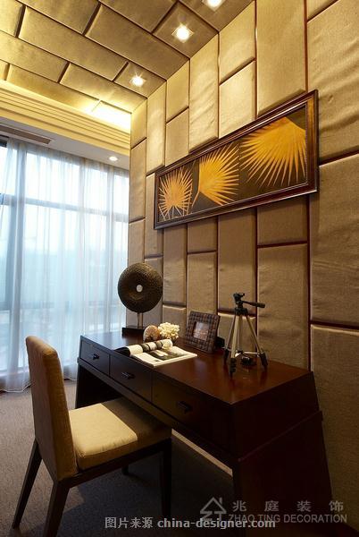 金水湾豪庭-上海兆庭建筑装饰工程有限公司的设计师家园-东南亚风格,客厅,独栋别墅