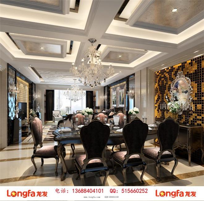 华润紫云府装修设计效果图-陈娇的设计师家园-新古典主义,客厅,玄关,餐厅,卧室,儿童房,四居及以上