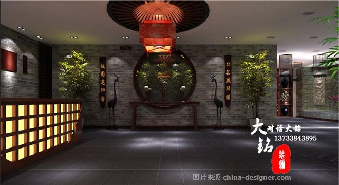 信阳光山茶楼会所装修设计-李同涛的设计师家园-新中式,中餐厅/中餐馆