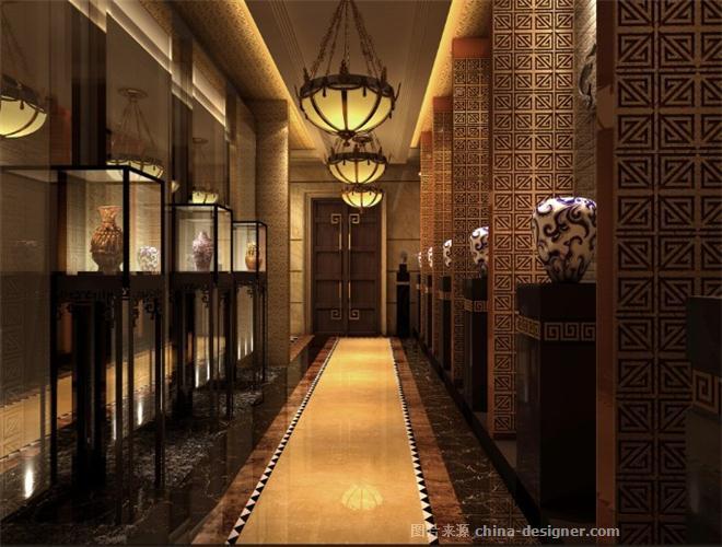东方印象政府商务接待中心-陈赋华的设计师家园-中餐厅