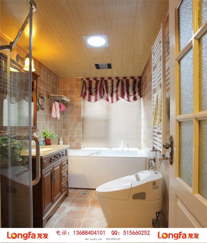 建发天府鹭洲美式乡村风格装修效果图-陈娇的设计师家园-美式,玄关,客厅,餐厅,儿童房,书房,四居及以上
