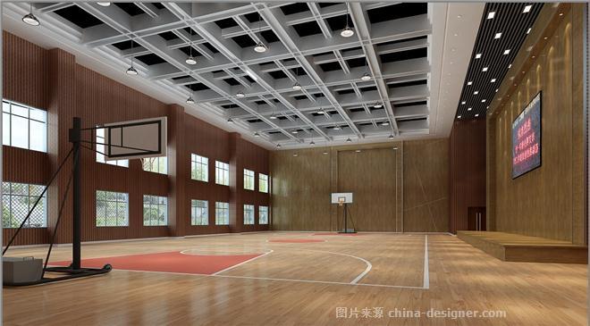 宁波鄞州区古林职高-沈章的设计师家园-现代简约,中学