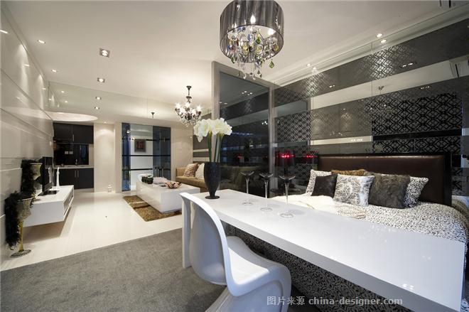 项目名称:深圳华商领寓-李智辉的设计师家园-现代简约,小户型
