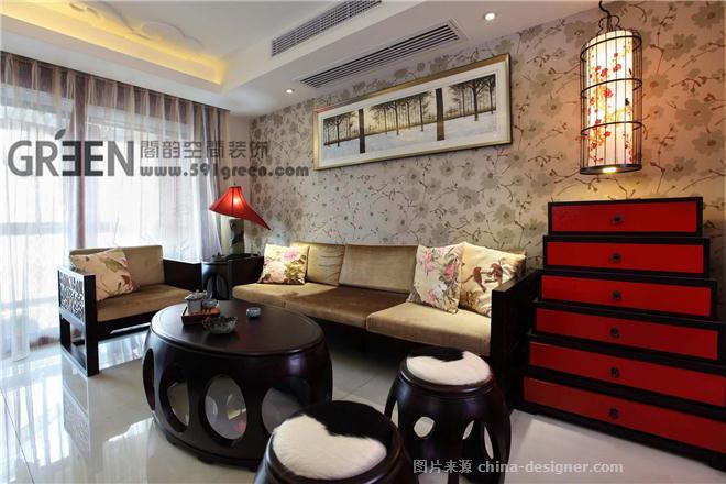 碧荷幽泉-王涛的设计师家园-田园风格,中国风,新中式