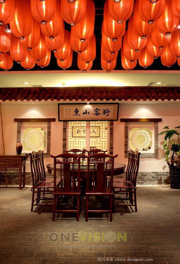 好客山东--大丰餐饮-万物・生空间美学机构的设计师家园-新中式,30-50元,中餐厅/中餐馆