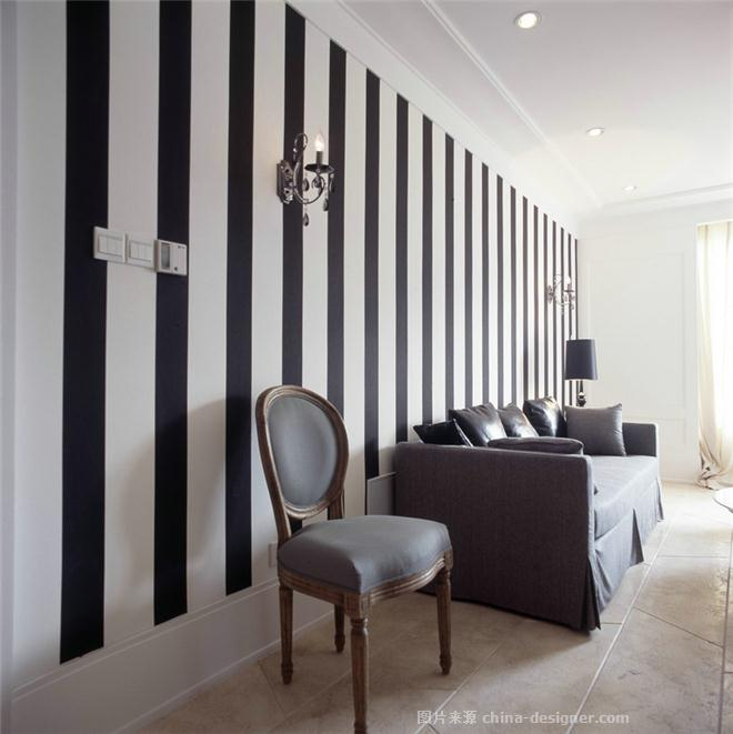 威宁花苑-上海兆庭建筑装饰工程有限公司的设计师家园-现代欧式,客厅,复式