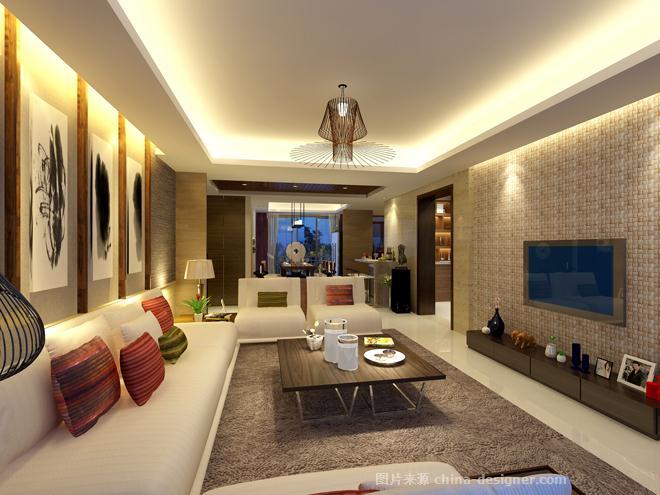 海口碧湖湾某宅-海南原语设计咨询有限公司的设计师家园-现代简约,餐厅,卧室,客厅,儿童房,四居及以上